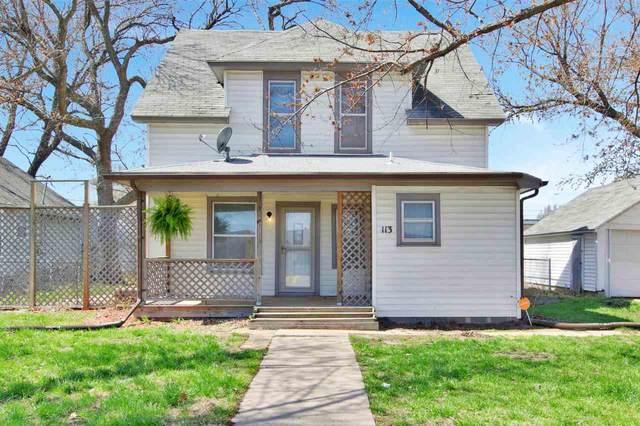 113 S Main St, Hesston, KS 67062 (MLS #594049) :: Keller Williams Hometown Partners