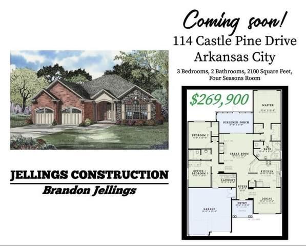 114 Castle Pines Drive, Arkansas City, KS 67005 (MLS #594310) :: Keller Williams Hometown Partners