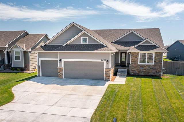 2649 S Lark Ct, Wichita, KS 67215 (MLS #594357) :: COSH Real Estate Services