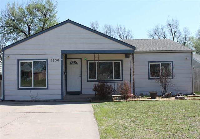 1736 S Dodge Ave, Wichita, KS 67213 (MLS #594435) :: Keller Williams Hometown Partners
