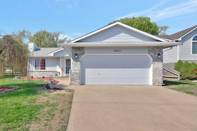 5413 S Stoneborough St, Wichita, KS 67217 (MLS #594643) :: Pinnacle Realty Group