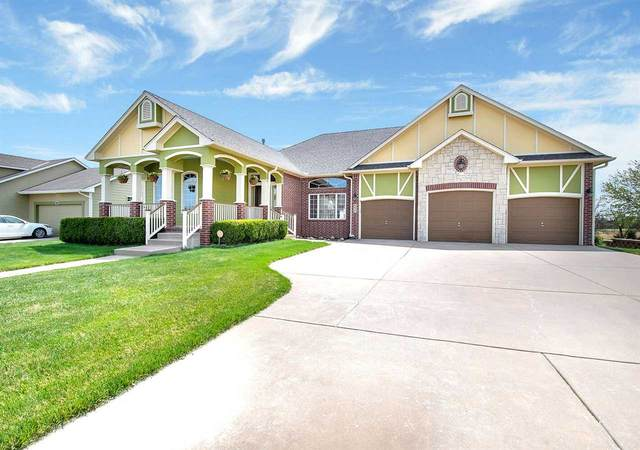 6627 E Summerside Pl, Bel Aire, KS 67226 (MLS #594703) :: Kirk Short's Wichita Home Team