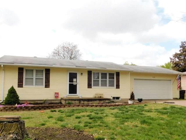 513 E Blair St, Mulvane, KS 67110 (MLS #594779) :: Kirk Short's Wichita Home Team