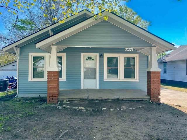 1406 N 5th St, Arkansas City, KS 67005 (MLS #594824) :: Graham Realtors