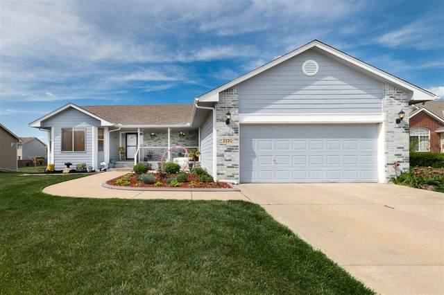 2220 S Stoneybrook Ct, Wichita, KS 67207 (MLS #595580) :: The Boulevard Group