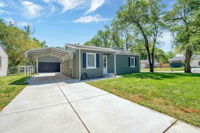 440 S Hungerford, Haysville, KS 67060 (MLS #595680) :: Kirk Short's Wichita Home Team