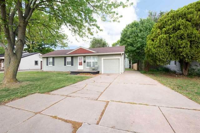 2037 Drollinger St, Wichita, KS 67218 (MLS #595754) :: The Boulevard Group