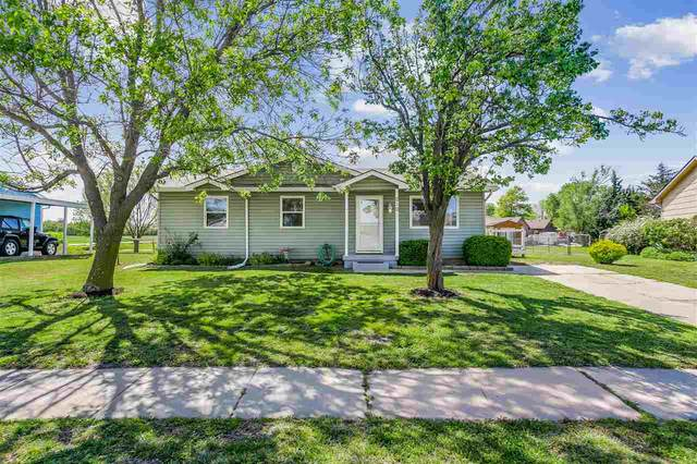 210 Stewart Dr, Goddard, KS 67052 (MLS #595810) :: Kirk Short's Wichita Home Team