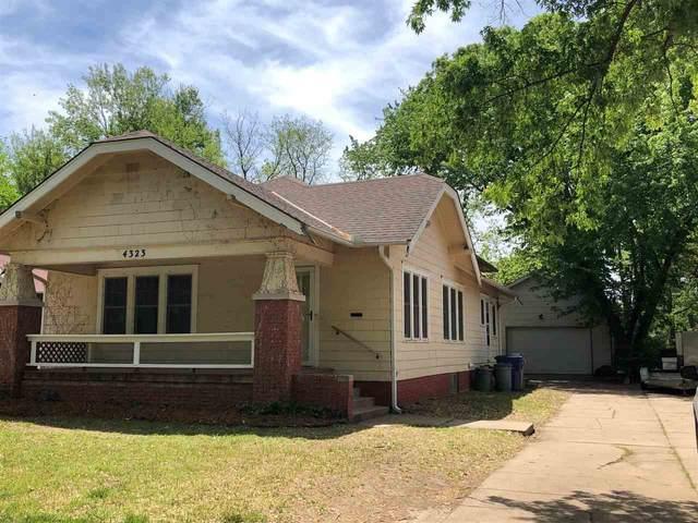 4323 E Waterman St, Wichita, KS 67218 (MLS #595843) :: Preister and Partners | Keller Williams Hometown Partners