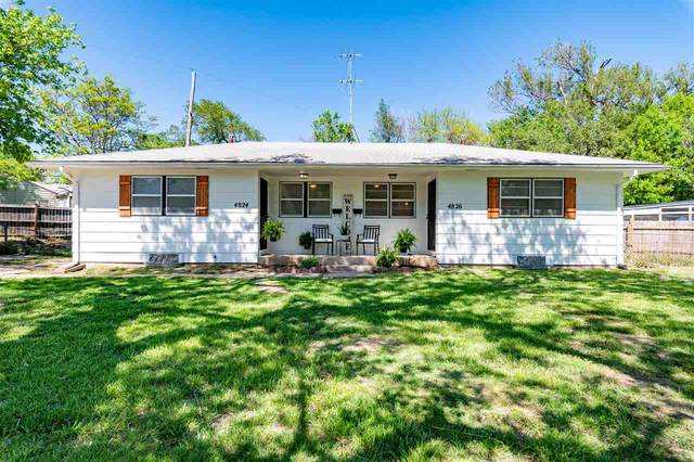 4824-4826 E Pine St, Wichita, KS 67208 (MLS #595847) :: The Boulevard Group