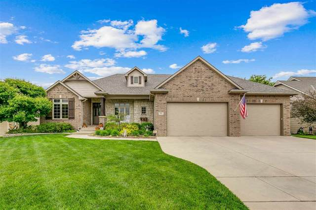 836 N Crescent Lakes Pl, Andover, KS 67002 (MLS #596234) :: Keller Williams Hometown Partners