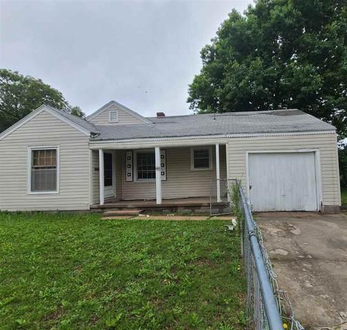 2220 E Mossman Ave, Wichita, KS 67214 (MLS #596638) :: Keller Williams Hometown Partners