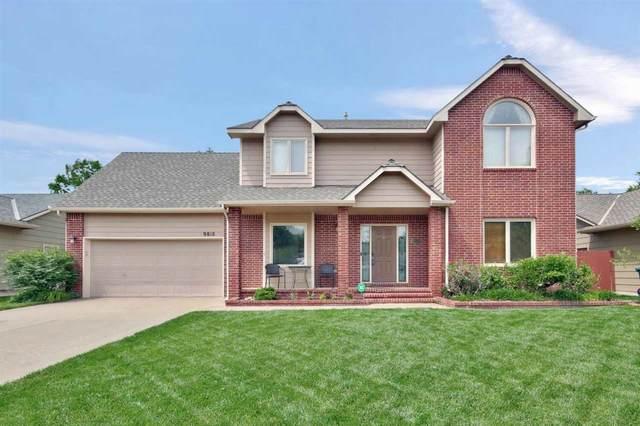 9818 W Bella Vista St, Wichita, KS 67212 (MLS #597108) :: Pinnacle Realty Group