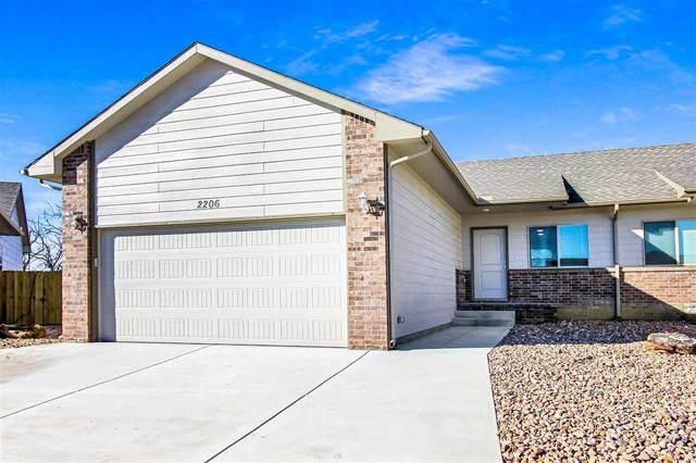 2202 E Quivira Cir 2204 E Quivira , Kechi, KS 67067 (MLS #597281) :: Kirk Short's Wichita Home Team