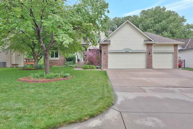2857 N Tee Time Ct, Wichita, KS 67205 (MLS #597472) :: Kirk Short's Wichita Home Team