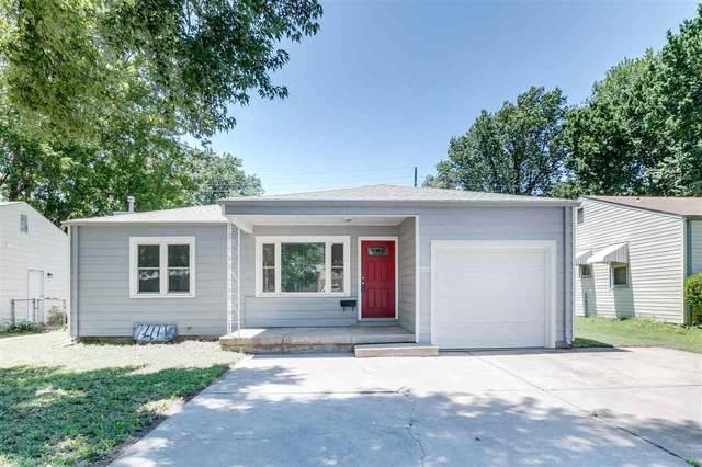 2327 S Dellrose Ave, Wichita, KS 67218 (MLS #597667) :: Pinnacle Realty Group