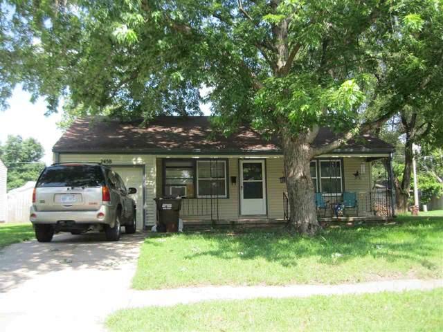 2458 S Ellis, Wichita, KS 67216 (MLS #598665) :: The Boulevard Group