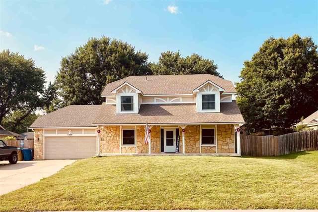 1306 E Brendonwood Rd, Derby, KS 67037 (MLS #599582) :: Kirk Short's Wichita Home Team