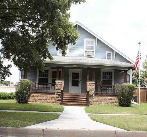 212 W 10th, Winfield, KS 67156 (MLS #599667) :: The Boulevard Group