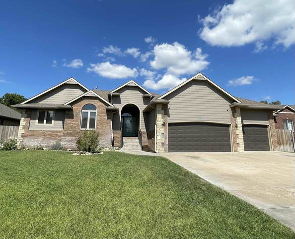 15510 E Woodcreek St, Wichita, KS 67230 (MLS #602303) :: Pinnacle Realty Group