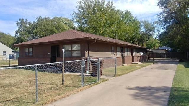 1818 N Burns St, Wichita, KS 67203 (MLS #602901) :: The Terrill Team