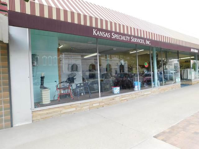 814 Main, Winfield, KS 67156 (MLS #602923) :: Kirk Short's Wichita Home Team