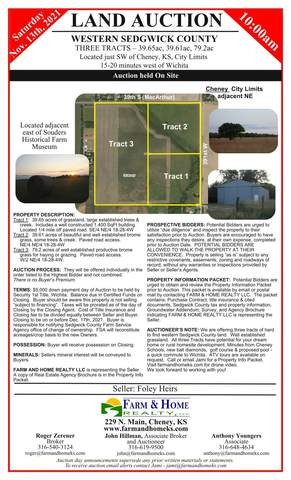 000 S 391st St W, Cheney, KS 67025 (MLS #603488) :: Matter Prop