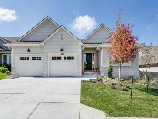 419 Frontgate, Wichita, KS 67206 (MLS #551186) :: On The Move