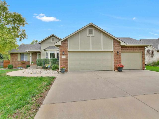 411 E Lakecrest Dr, Andover, KS 67002 (MLS #558227) :: On The Move
