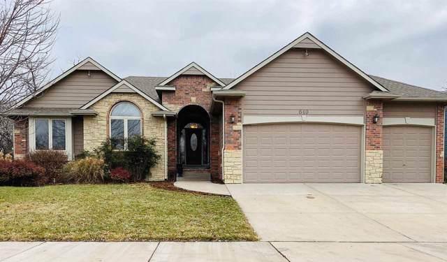 640 S Wrenfield Dr, Andover, KS 67002 (MLS #576529) :: Lange Real Estate