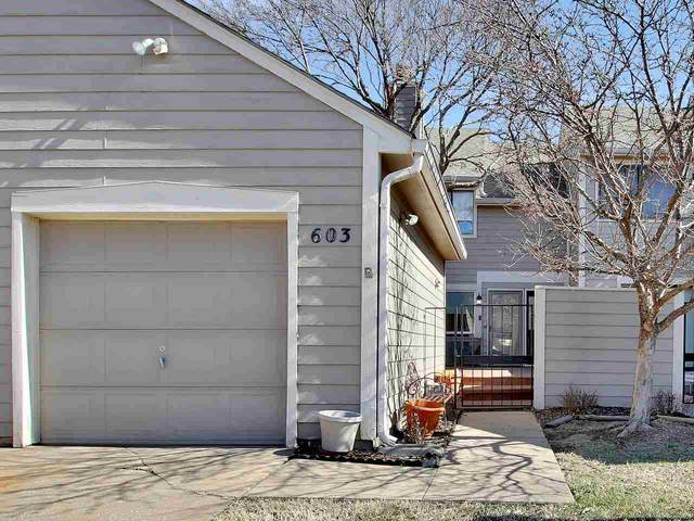 2243 N Bramblewood St #603, Wichita, KS 67226 (MLS #578409) :: On The Move