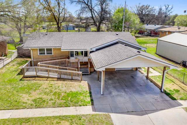 421 E 7TH AVE, Belle Plaine, KS 67013 (MLS #579358) :: Lange Real Estate