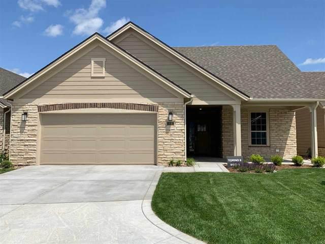 6514 W Collina St Torino II Model, Wichita, KS 67205 (MLS #579709) :: Keller Williams Hometown Partners