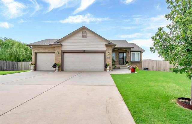 1952 E Glen Hills Ct, Derby, KS 67037 (MLS #585015) :: Preister and Partners | Keller Williams Hometown Partners