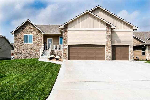 965 N Cedar Brook Cir, Mulvane, KS 67110 (MLS #587531) :: Jamey & Liz Blubaugh Realtors