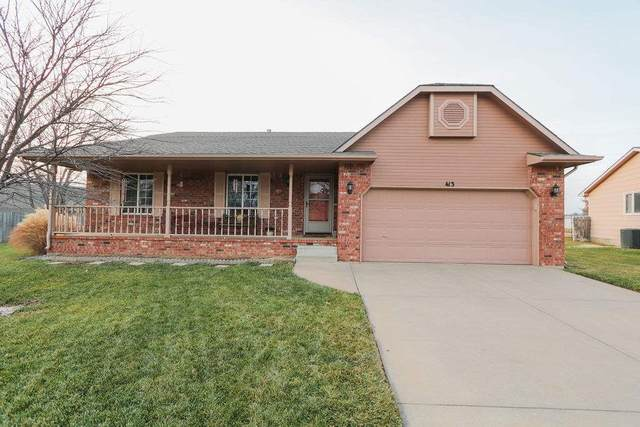 413 N Stonegate Cir, Derby, KS 67037 (MLS #589874) :: Kirk Short's Wichita Home Team