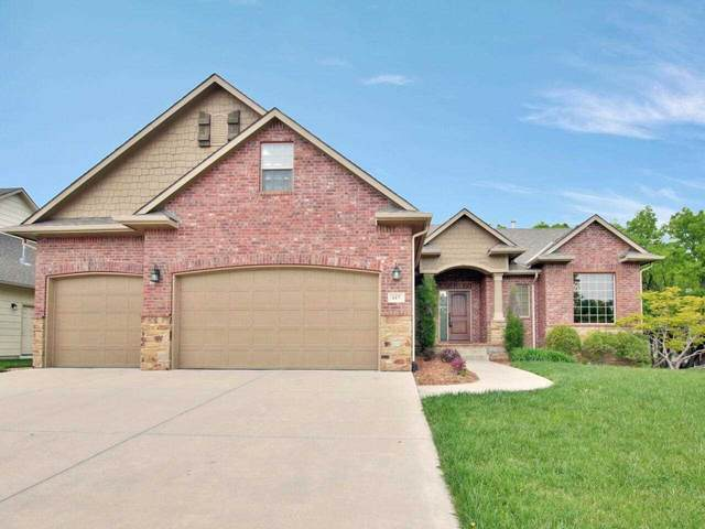 617 N Lakecrest Cir, Andover, KS 67002 (MLS #595462) :: The Boulevard Group
