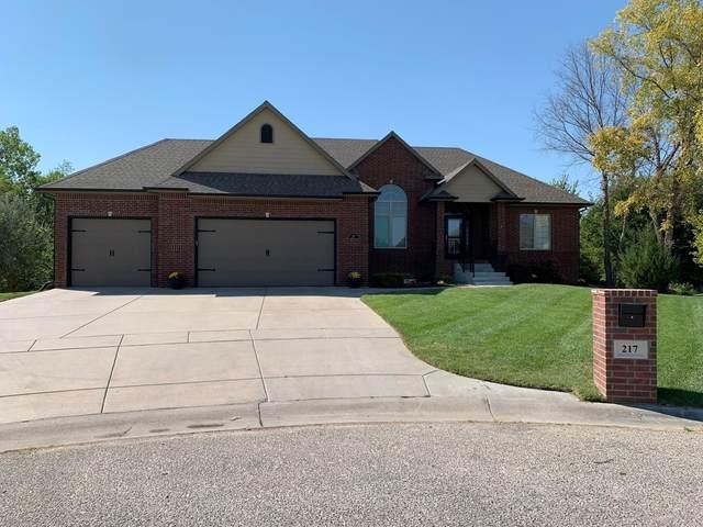 217 N Gateway Ct, Wichita, KS 67230 (MLS #601715) :: The Boulevard Group