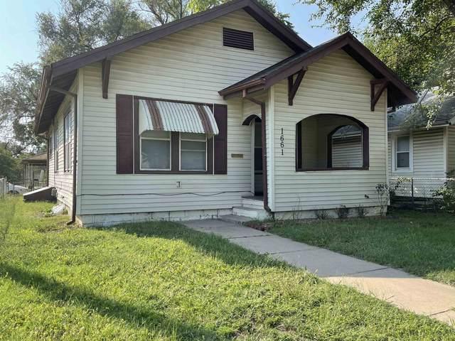 1661 S Lulu Ave, Wichita, KS 67211 (MLS #601887) :: The Terrill Team