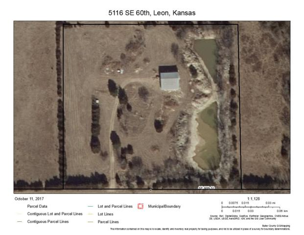 5116 SE 60th St, Leon, KS 67074 (MLS #543274) :: Glaves Realty