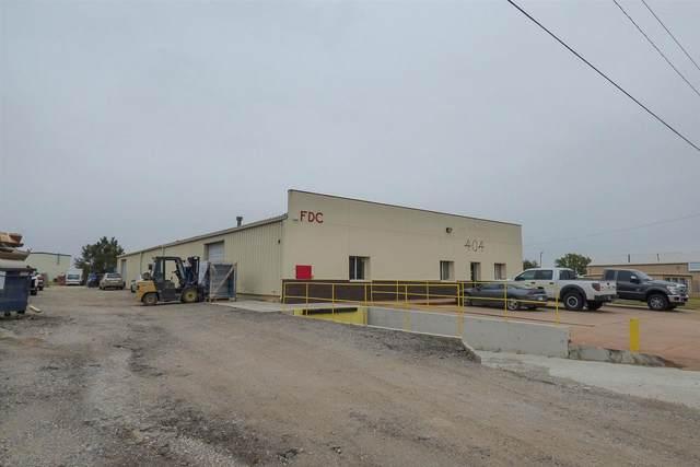 404 E Industrial Rd, Goddard, KS 67052 (MLS #574025) :: Graham Realtors