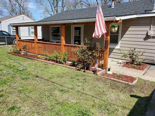 306 N Washington St, Belle Plaine, KS 67013 (MLS #592370) :: The Boulevard Group
