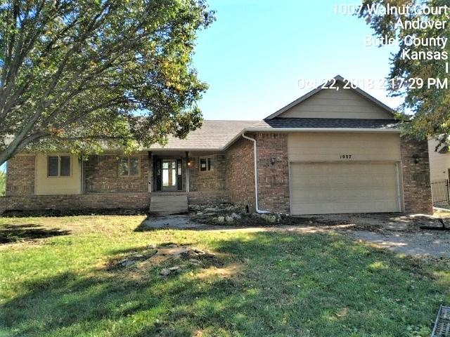 1007 Walnut Ct 1007 W Walnut C, Andover, KS 67002 (MLS #558697) :: Wichita Real Estate Connection