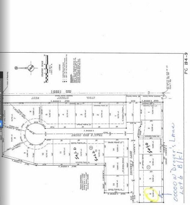 00000 N Drover's Lane Lot 6 Blk 1 Dro, Mount Hope, KS 67108 (MLS #568129) :: COSH Real Estate Services