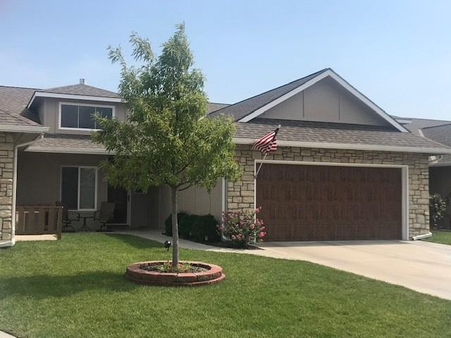 1324 N Hamilton Dr, Villa B, Derby, KS 67037 (MLS #570681) :: Lange Real Estate