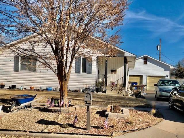 720 S Gordon St, Wichita, KS 67213 (MLS #575000) :: On The Move