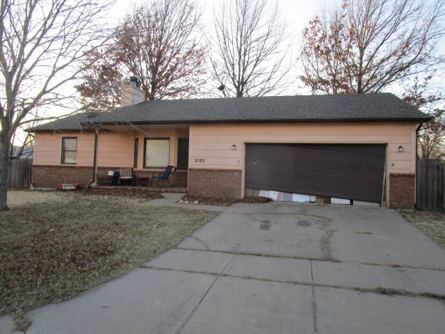 2103 N Sunridge St, Wichita, KS 67235 (MLS #575584) :: Pinnacle Realty Group