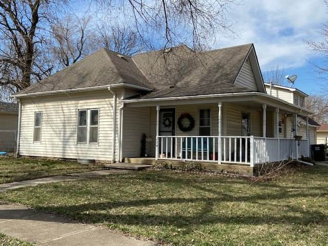 224 E Knott St, Hesston, KS 67062 (MLS #578592) :: Keller Williams Hometown Partners
