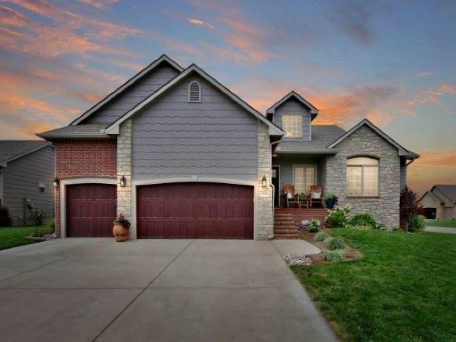 13329 W Alderny Ct, Wichita, KS 67235 (MLS #585116) :: Kirk Short's Wichita Home Team