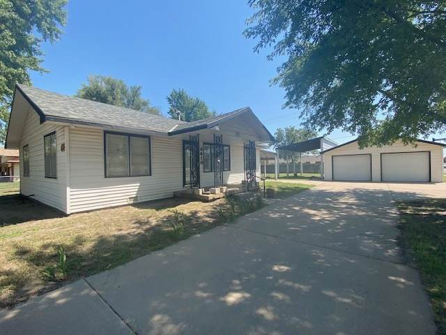 3410 S Meridian Ave, Wichita, KS 67217 (MLS #585509) :: Keller Williams Hometown Partners